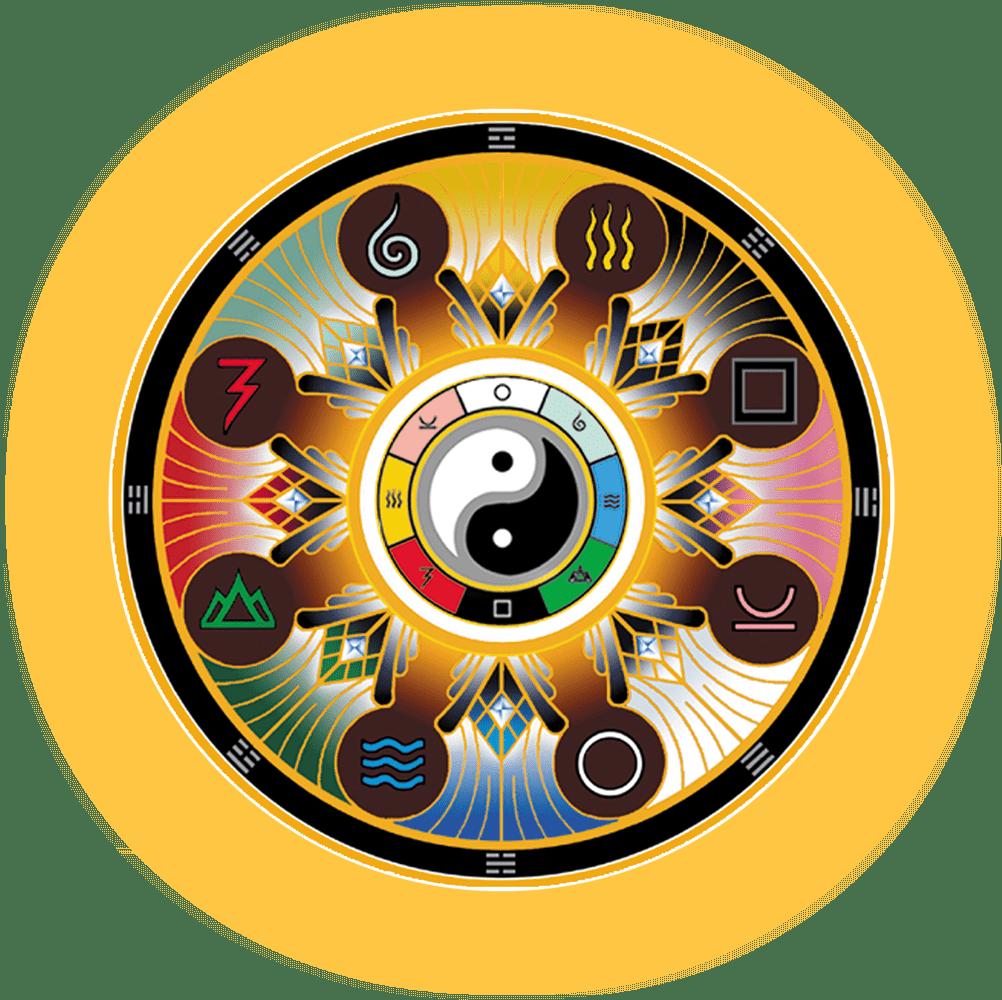 The Tao Oracle mandala